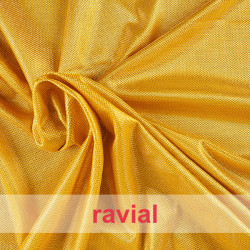 FANTASIA MARION. Lamé fabric decorated with metallic thread.