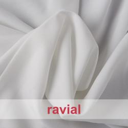BASICO STRECH. Tissu stretch en polyester à armure plate.