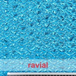 FANTASIA RUPIT. Tissu uni double imprimé.