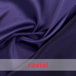 JUNO. Reversible fabric with spandex: Shantung fabric/ satin.