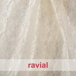 BLONDA CADI. Lace fabric.