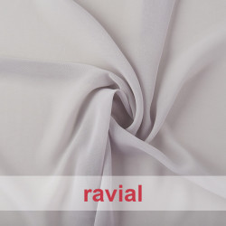 HALEY. Thin chiffon fabric. Perfect for special occasion dresses or to combine with satin.