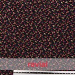 BULNES. Thin knitted print fabric.