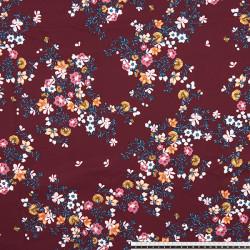 MUROS. Printed gabardine fabric with spandex.