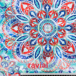 DANZA ZUMBA. Printed knit fabric. OEKO-TEX Standard 100