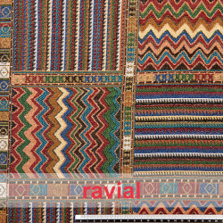 ETNICO ALADIN. Cotton fabric for ponchos, linings, costumes,...