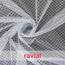 FANTASIA DUQUE. Soft net fabric.