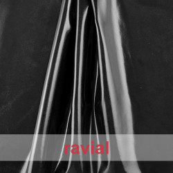 CHAROL GANDHI. Patent leather fabric.