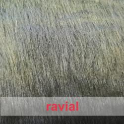 BALDER. Tejido de pelo gris oscuro.