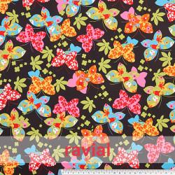 DANZA RITMICA ESTAMPADO. Printed spandex fabric.