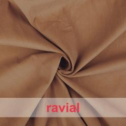 POPPY 135. Tissu en velours côtelé de coton.