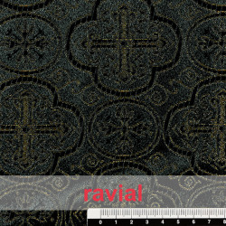 EPOCA BESALU. Jacquard fabric.