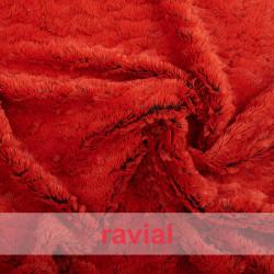 ANIMALIA HURON. Soft short fur fabric.