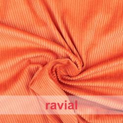 POPPY 36. Tissu en velours côtelé de coton.