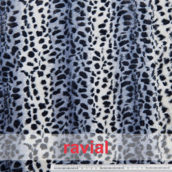 ANISA. Short fur fabric.
