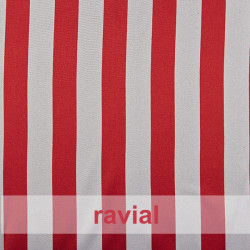RASO ESTP-RAYAS. Satin fabric. Striped print.